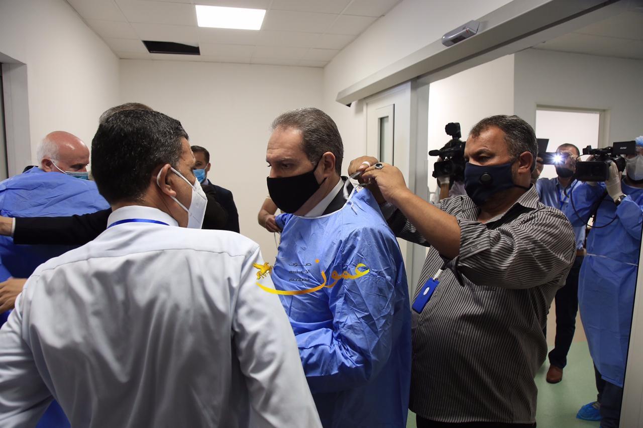 السميرات يطالب بطرح الثقة في وزير الصحة: استعراض!