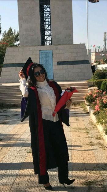 سوسن المجالي ..  مبارك التخرج