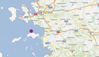 زلزال بقوة 4.5 درجة يضرب السواحل الغربية لتركيا