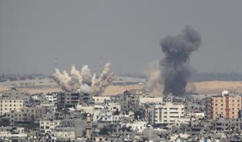 موجة جديدة من القصف تخلف 5 شهداء وتدمر منازل في غزة