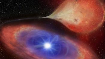في ظاهرة فلكية نادرة ..  نجم قزم يتناوب السطوع والانطفاء كل 30 دقيقة