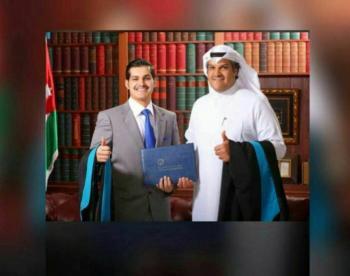محمد المنديل وعبدالرحمن المطرقه ..  مبارك التخرج