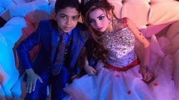 حفل خطوبة لطفلين مصريين يثير غضب المدافعين عن حقوق الطفل