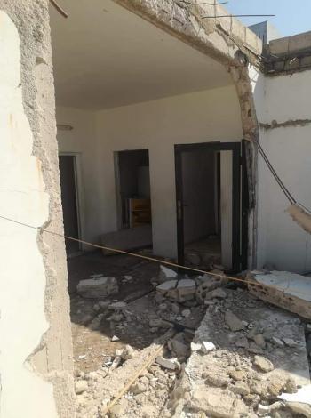 انفجار منزل في الرمثا بسبب تسرب غاز