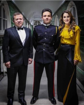 الملكة رانيا لولي العهد: فخورون بك إلى أبعد الحدود