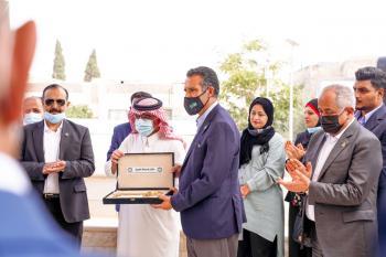الفايز يتسلم مفتاح السياحة العربية لعام 2022