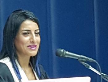 الدكتوراة مع مرتبة الشرف للفنانة الأردنية رولى جرادات