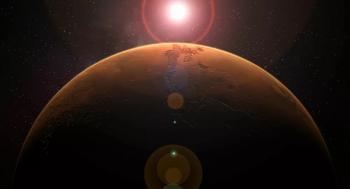 اكتشاف بحيرات المياه المالحة على سطح المريخ