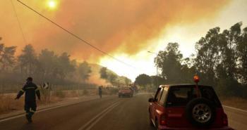 إخلاء محطة طاقة حرارية يهددها حريق في تركيا