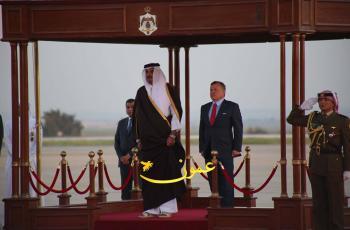 آل ثاني يغادر الأردن ويشكر الملك