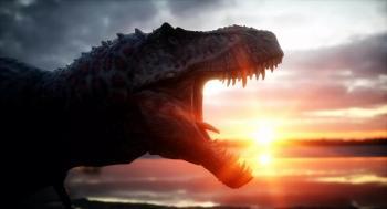 اكتشاف أول ديناصور مائي في العالم