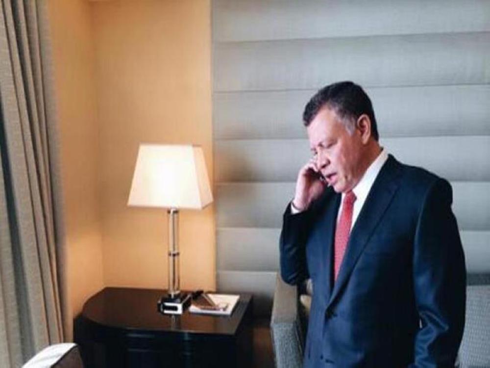 الملك يتلقى اتصالا هاتفيا من مستشار الأمن القومي الأمريكي