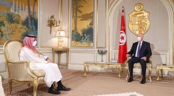 السعودية تؤكد دعمها لأمن واستقرار تونس