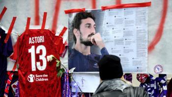قضية وفاة أستوري ..  الحكم على طبيب قائد فيورنتينا الراحل بالحبس لمدة عام