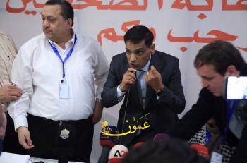 راكان السعايدة نقيبا للصحفيين وجمال اشتيوي نائبا للنقيب