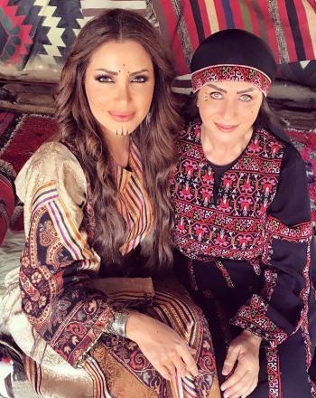 نسرين طافش تكشف تفاصيل عملها الجديد العقاب والعفراء