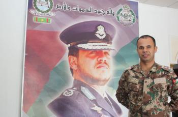مبارك لإبن العم الملازم أول عمر محمد المساعفه