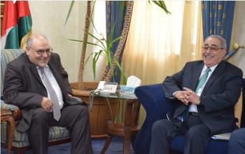 مجلس أمناء الهاشمية يتابع إنشاء المستشفى الجامعي
