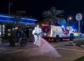 الإمارات تنهي حظر التجول المرتبط بكورونا