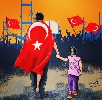الملك لاردوغان : للشعب التركي المزيد من التقدم