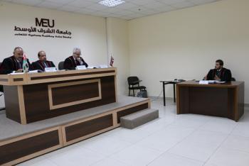 رسالة ماجستير في الشرق الأوسط حول اثر التواصل الاجتماعي على الأداء التنظيمي