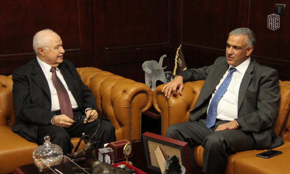 أبوغزاله ومراقب عام الشركات يبحثان الشراكة بين القطاع الخاص والعام