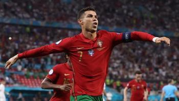 رونالدو يحقق عدة أرقام قياسية في مباراة تاريخية أمام فرنسا