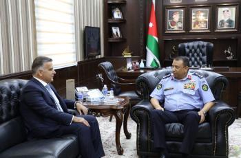 الحواتمة ومدير الأمن اللبناني يبحثان التعاون المشترك