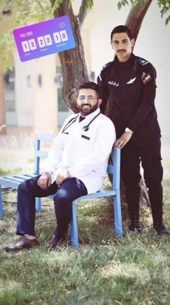 نديم ونذير .. مبارك التخرج