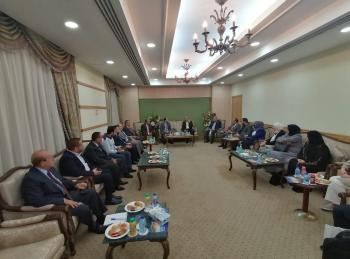 الوفد البرلماني الأردني بالقاهرة يدعو لتبادل الخبرات الإعلامية العربية