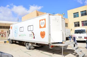 أكثر من 2500 مستفيد من عيادة جهد المتنقلة برعاية أورانج الأردن
