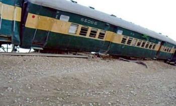 خروج قطار عن مساره في باكستان يخلف قتلى وجرحى