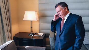الملك يجري اتصالاً هاتفياً مع أمير دولة الكويت