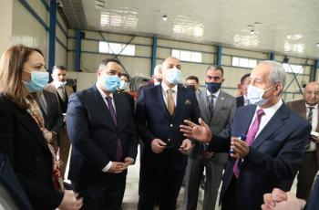 ركن للصناعات الأردنية في معرض بغداد الدولي