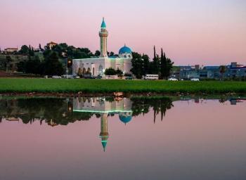 الأميرة بسمة تنشر صورة لمسجد الحاج عبدالله الداوود في السلط