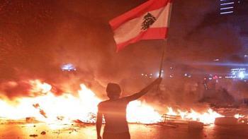 الأمن اللبناني يوقف 11 مشاركا بأعمال شغب وسط بيروت