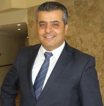 الزميل محمد الهبارنة ..  مبارك