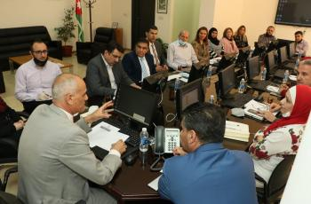الاستاذ الدكتور خالد الطراونه يشدد على ضرورة تميز وجودة المخرجات الاكاديمية لـعمان العربية