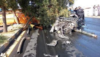 إصابات بتدهور صهريج وصدم 5 مركبات في عمان