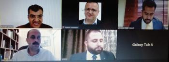 رسالة ماجستير فيعمان العربيةحول أثر تطبيق الأعمال الإلكترونية في أداء المؤسسات