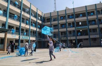 119 ألف طالبا يعودون للتعليم الوجاهي في مدارس الاونروا