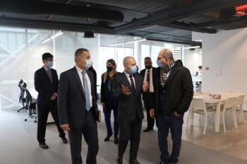 بيجو تكنولوجي تستضيف هيئة الاستثمار وتكشف عن خطط لتوظيف كفاءات أردنية