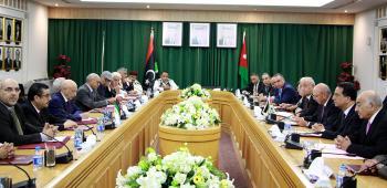 الفايز يؤكد دعم الاردن لإنهاء الازمة السياسية في ليبيا