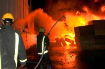 الدفاع المدني يتعامل مع 49 حادث اطفاء خلال 24 ساعة