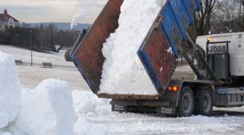 النرويج تجلب الثلوج لمواطنيها عشاق التزلج