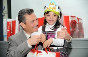 العلوم والتكنولوجيا تكرم أيتام جمعية مبرة الملك حسين الخيرية