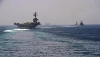 البنتاغون: حاملة الطائرات يو إس إس نيميتز تتجه إلى الخليج