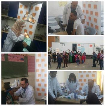Orange الأردن تدعم اليوم الطبي المجاني في منطقة الملاحة والطوال