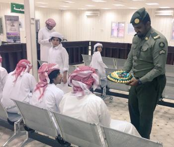 دخول 41 حاجاً قطرياً للسعودية عبر منفذ سلوى البري