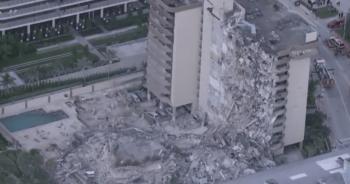 قتيل و99 مفقودا بانهيار برج سكني في فلوريدا